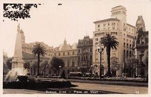 CPA-ARGENTINE-BUENOS-AIRES-PLAZA-DE-MAYO