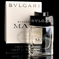 Bulgari Bvlgari Perfume Man Eau De Toilette Mini Men's Cologne Parfum 0.17oz 5ml