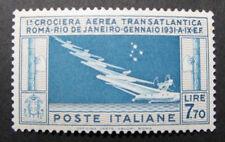 Italy C27 Mint 1930 7.70 Balbo Air Mail NH GEM €1375.00+ 6F18 61