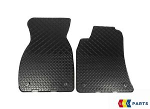 New Genuine Audi A6 C5 98 05 Front Black Rubber Floor Mats Lhd