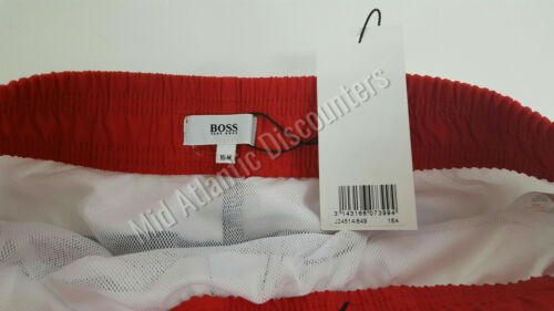 Hugo Boss Swimwear Board Shorts Red White Blue 3 Sizes