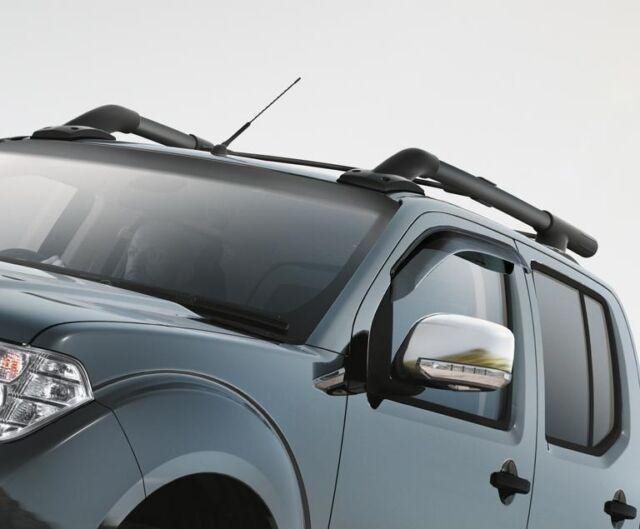 Nissan Navara Pathfinder LH Passenger Chrome Mirror Cap New Genuine 963744X07E