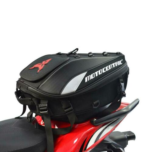Bolso De Motocicleta Impermeable Alta Capacidad Mochila Bolsa De Asiento Trasero