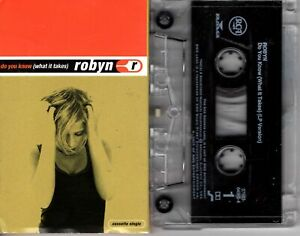 Robyn-Do-You-Know-What-It-Takes-1997-Cassette-Tape-Single-Pop-Dance-Rock