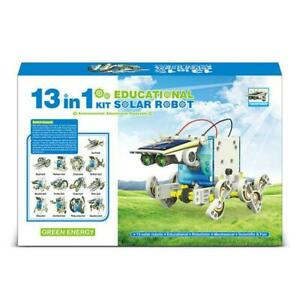 13-in-1-Solar-Powered-Robot-DIY-Transformer-Toy-Educational-Toy-Kit-Science-T2G4