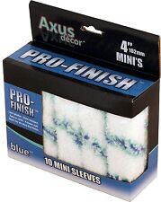 "10 x 4"" Axus Decor Pro Finish Mini Paint Radiator Rollers AXU/RB410"