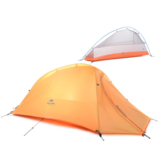 NatureHike 1 Person Lightweight Waterproof Tent Double-layer Camping Tent