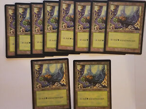 348 English Urza/'s Saga Hero Deal 4 x MTG Forest