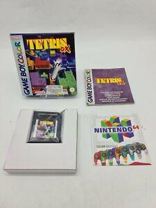 NEUF RARE TETRIS DX NINTENDO Gameboy Game boy COLOR Boxed boite OVP DMG-EUR