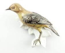 #e4193 Aelteste Volkstedter Porzellan - Manufaktur Figur Vogel Wanddeko