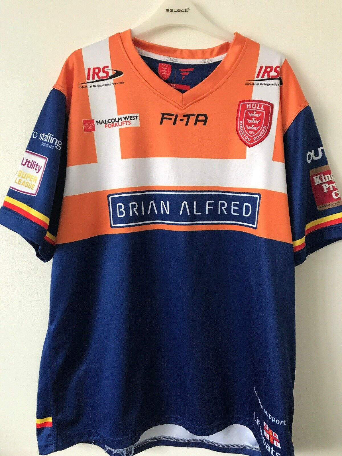 Hull Kingston Rovers Shirt 2016 Charity Shirt RNLISize 3 XL Excellent Condition