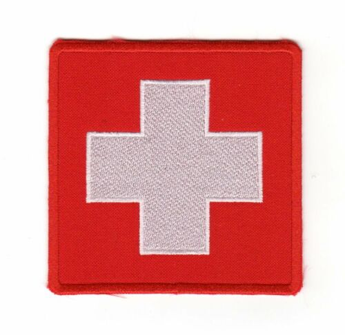 Army Tactical Medical Medic First Aid Patch Red White Cross Paramedic EMT EMS