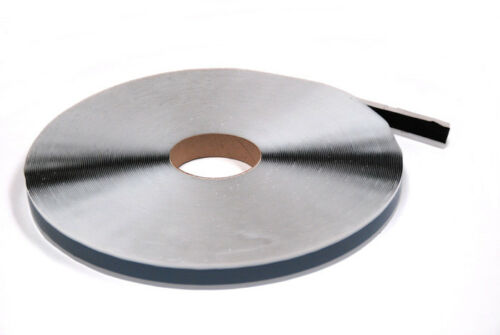 15mm x 25lfm 0,35€//m COROBUTYL Butylband doppelseitiges Klebeband Butyl