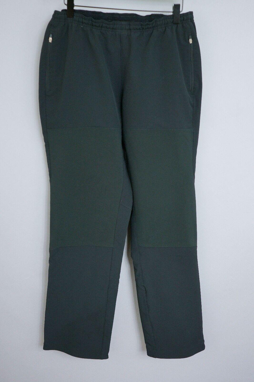 XII552 damen Patagonia schwarz Elástico Exterior Activewear Pantalones M W30 L32