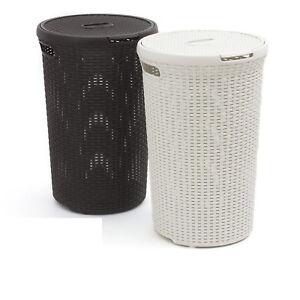 Panier-a-linge-round-Curver-Style-fibre-naturelle-originale-salle-de-bain