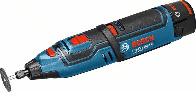 Bosch Professional Akku-Rotationswerkzeug GRO 10,8 V-LI / GRO 12V-35, Solo ...