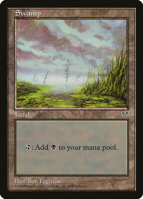 D Mirage HEAVILY PLD Basic Land MAGIC THE GATHERING MTG CARD ABUGames Swamp