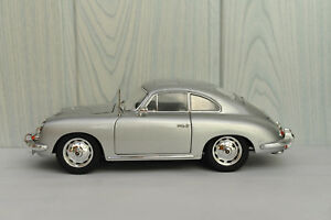 Porsche 356 B Personnalisé 1960 Ricko Replicars 1/18 Silver Superbe