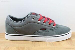 6f05cf2c5f20 Vans AV Era 1.5 Charcoal Grey Red Men s Classic Skate Shoes SIZE 7.5 ...