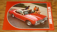 Original 1973 Dodge Dart Foldout Sales Brochure 73 340 Sport Swinger Custom