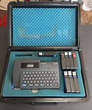 New Listingbrother P Touch Model Pt 15 Label Maker With Case Tested Working