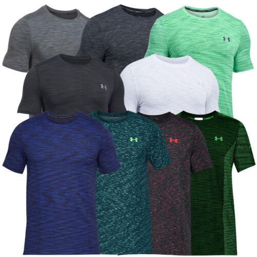 Under Armour Heatgear Fitted threadborne Knit short manche shirt t-shirt 1289596
