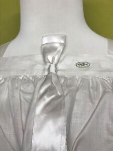 Vintage-Lino-Surplice-Irlandes-Lino-Vestment-Nuevo-Viejo-Stock-Pequeno-Liso-TH21
