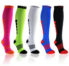 X31 Sports Knee High Compression Socks for Running, Fitness, Crossfit, 15-20mmHg