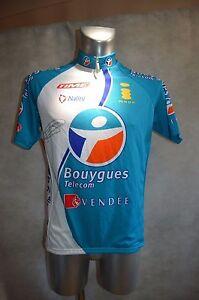 Camiseta-Bicicleta-Nalini-Bouygues-Telecom-Senal-Fedrigo-T-XL-Jersey-Maglia