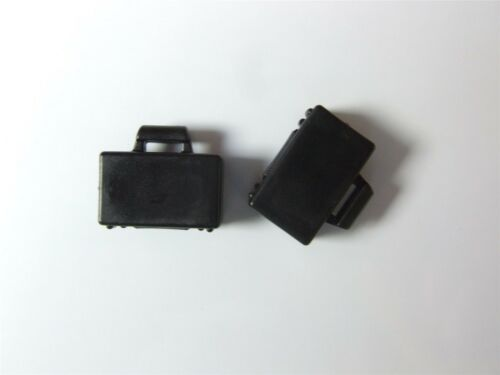 Parts /& Pieces 2 x Lego black suitcases they do open /& close -4154853