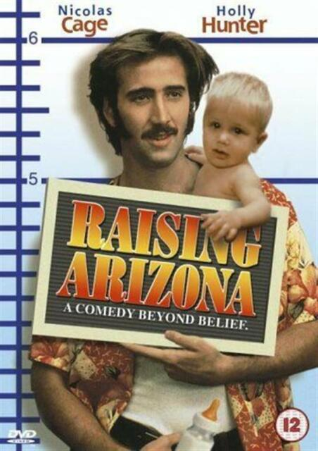 RAISING ARIZONA NICOLAS CAGE HOLLY HUNTER JOHN GOODMAN FOX UK DVD NEW