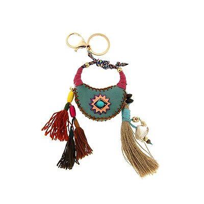 Schlüsselanhänger,Taschenanhänger,Taschenschmuck,Motiv Tasche,Hippie,Festival