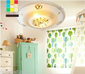 European-Rural-Style-Diameter-30CM-Height-10CM-Children-Bedroom-Ceiling-Light-F