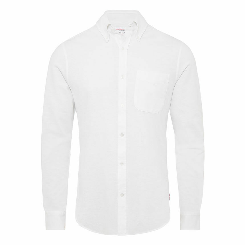 Orlebar Brown White Oxford Shirt XXL NEW WITH TAGS RRP
