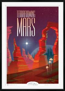 Terraforming Mars Board Game 12x18 Art Print by Tania Walker