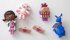 Doc McStuffins! / Lambi & Stuffy Hallie / Disney License ~ Jesse James Buttons