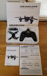 720P HD Video Recording 2.4GHz 4 Channel Code Black Drone