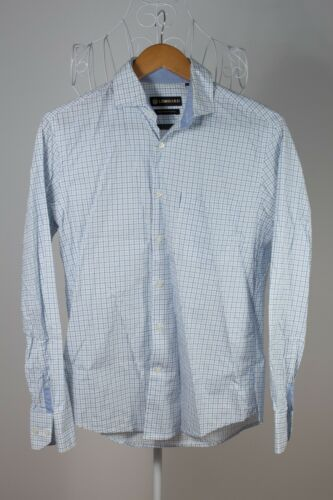 "Mens ""Lombard"" Business Shirt size 38cm Bargain Price! Comfortable!"