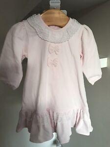 4ae5cdec5 BARGAIN SALE Designer Girls Baby Emile Et Rose Pink Dress Age 1m Rrp ...