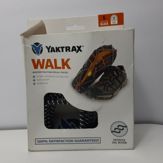 "Yaktrax ""Walk"" Traction Cleats for Walking on Snow and Ice Small"