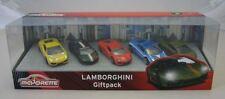 Majorette Car Toy Diecast Lamborghini Giftpack With 5 Cars Gallardo