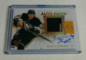 R11-847-DOMINIK-SIMON-2016-17-SP-AUTHENTIC-RC-AUTOGRAPH-PATCH-51-100