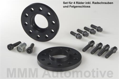H /& R ABE PASSARUOTA NERO 24//26 mm Set BMW x3 xDrive tipo x3 PIASTRA traccia