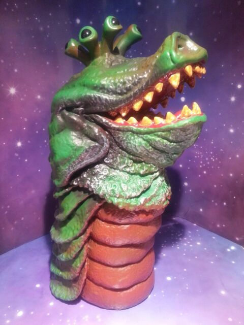 """DOCTOR WHO DRASHIG CARNIVAL OF MONSTER 3RD DR HAND PUPPET TOY CLASSIC 5"""" FIGURE"""