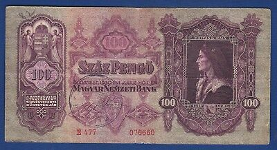 HUNGARY Magyar Pengo Bulk lot set wholesale item SALE 9 old banknotes 1930-1940