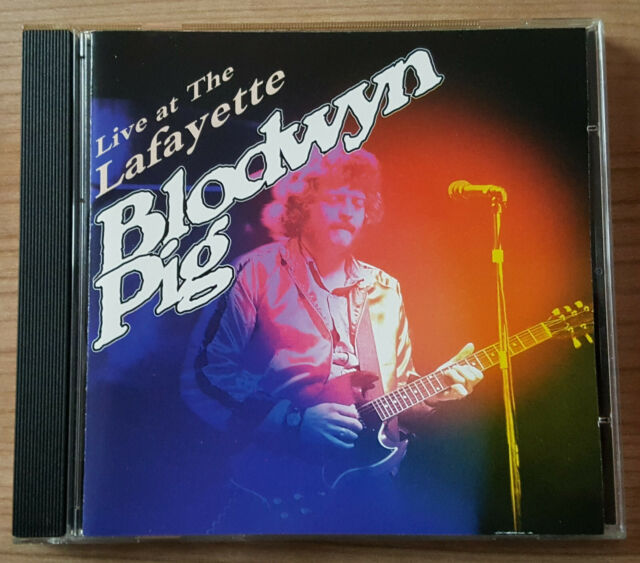 CD Blodwyn Pig - Live at The Lafayette 1997 Indigo Records Remastered IGOCD 2067