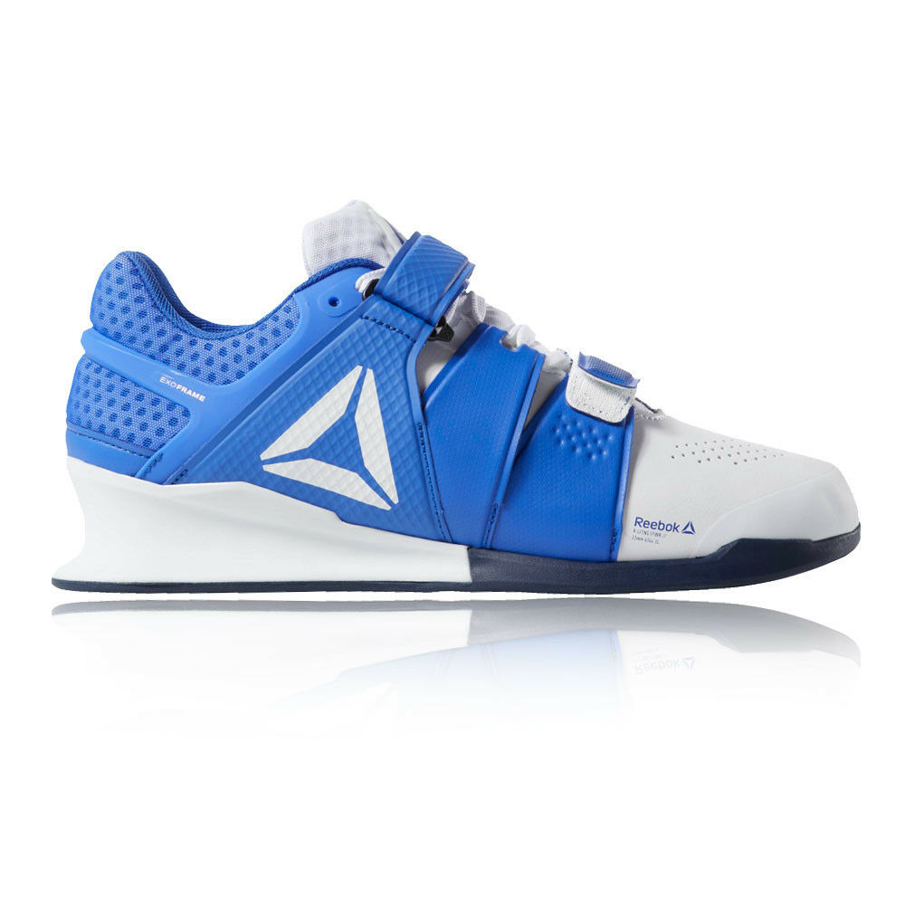 Reebok Mens Legacy Lifter Training Gym Fitness shoes bluee Sports Weightlifting