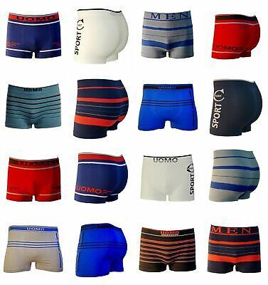 6er 8er Uomo Retrò Boxershorts Mutande Uomo In Microfibra Biancheria Intima Pants-mostra Il Titolo Originale