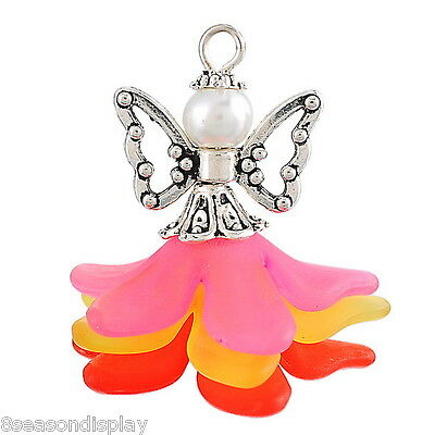 1PC New Charm Handmade Wing Pendants Guardian Angel Design