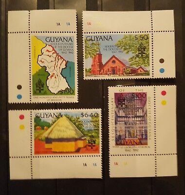 Briefmarken postfrisch Methodisch Briefmarken Guyana Süd- & Mittelamerika